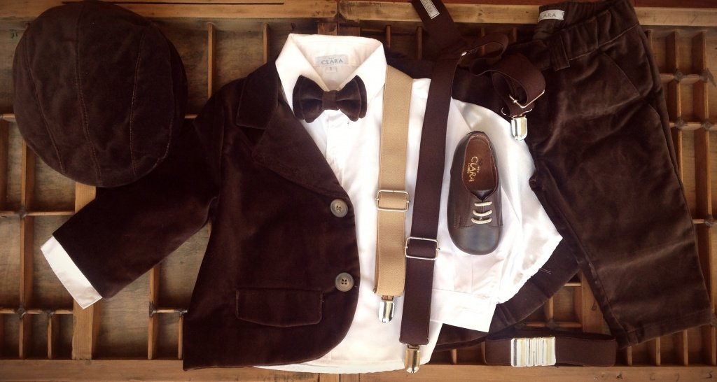Blazer de pana chocolate