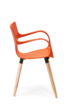 Silla inyectada Jim wood